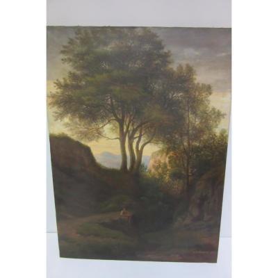 Tableau De A . Delacroix