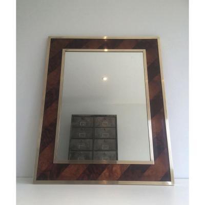 miroir ancien sur proantic design ann es 50 60. Black Bedroom Furniture Sets. Home Design Ideas