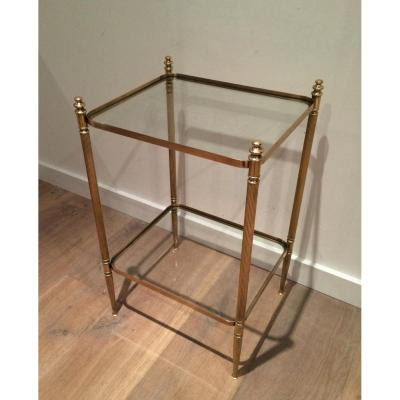 Neoclassical Sofa Booth Brass.