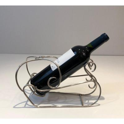 Silver Plated Wine Holder. French. Circa 1930