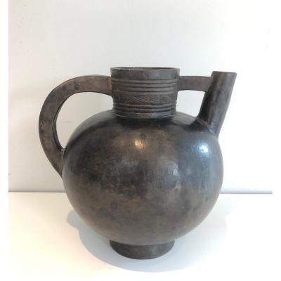 Vase En Terre-cuite Vernissée. Vers 1950