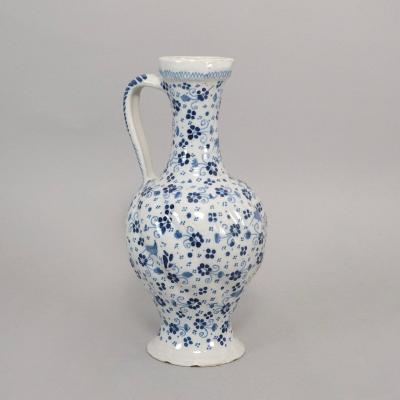 Faience Pitcher, 18th Century
