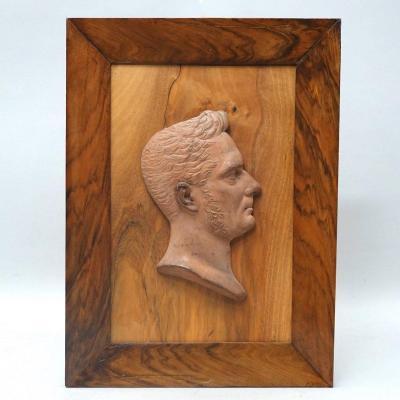 Pierre-paul Darbois – Portrait Sculpté, XIXe Siècle