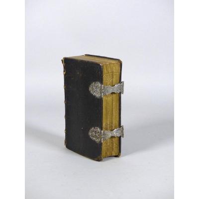 Bible Avec Fermoirs En Argent, XVIIIe Siècle
