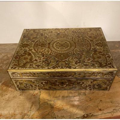 Box In Boulle Marquetry, Mid-19th Century