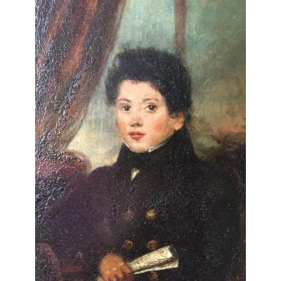 Portrait Of Young Man XIX Painting