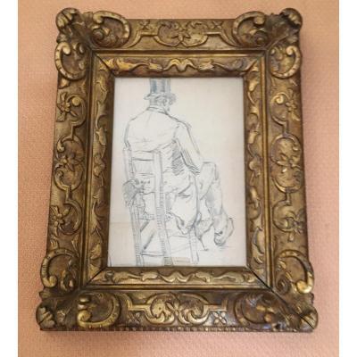 "Drawing ""seated Man"""