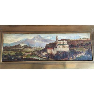 Table Landscape Animated In Mountain Late 19th