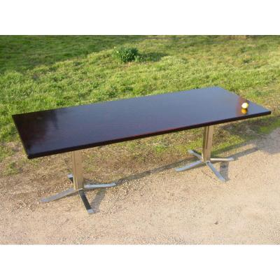 Large Modernist Table (240 Cm.) Rosewood Conference