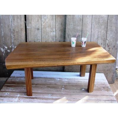 Coffee Table Teak Brutaliste Cf Perriand Free Form