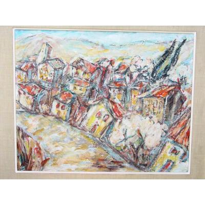 Francois Ozenda (1923-1976) Vence Saint Paul