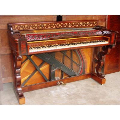 Facteur: Jean-henri Pape (1789-1875) Piano Console 1839