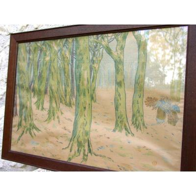 Large Lithograph