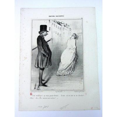Litho: Honoré Daumier: