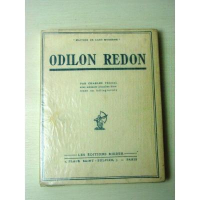 """Edition Originale 1929 """"Maîtres de l' Art Moderne"""" Odilon Redon"""