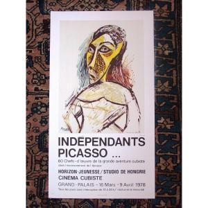 Poster Retrospective Picasso Grand Palais 1978