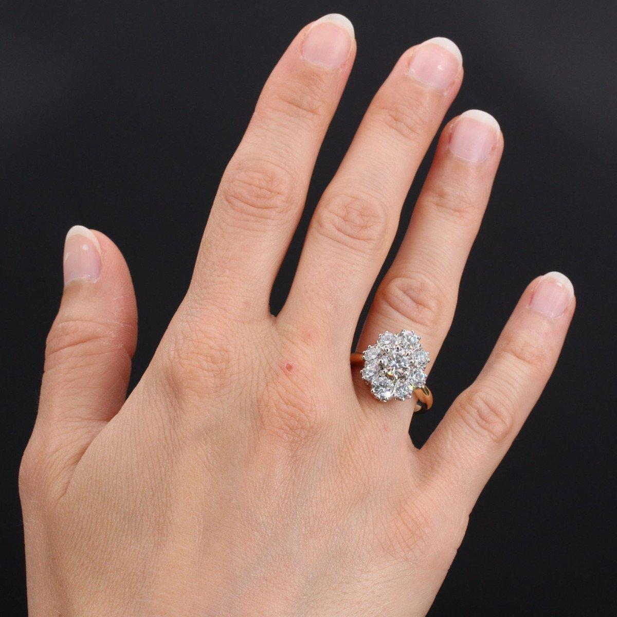 Bague Diamants Pompadour-photo-2