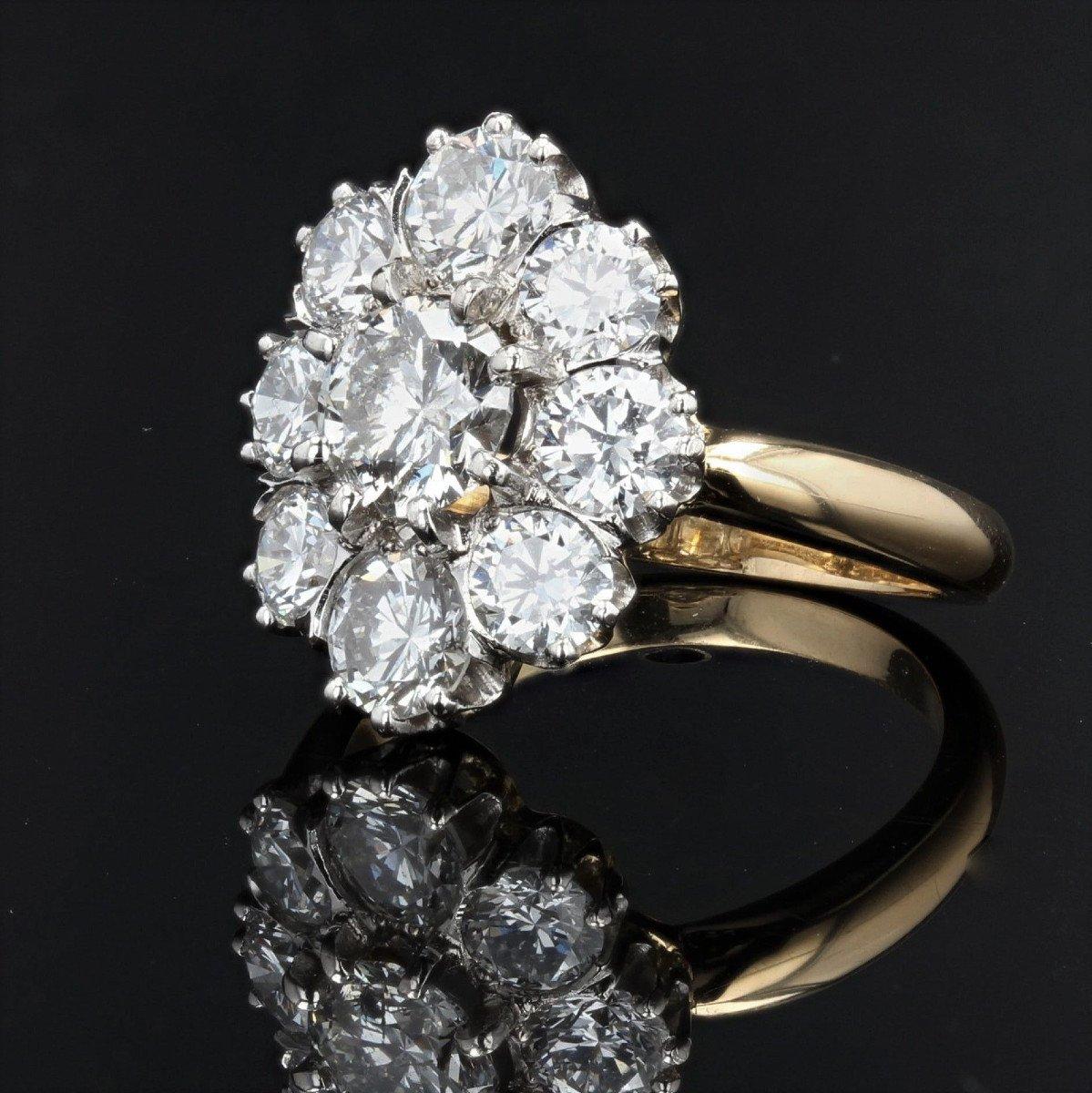 Bague Diamants Pompadour-photo-4