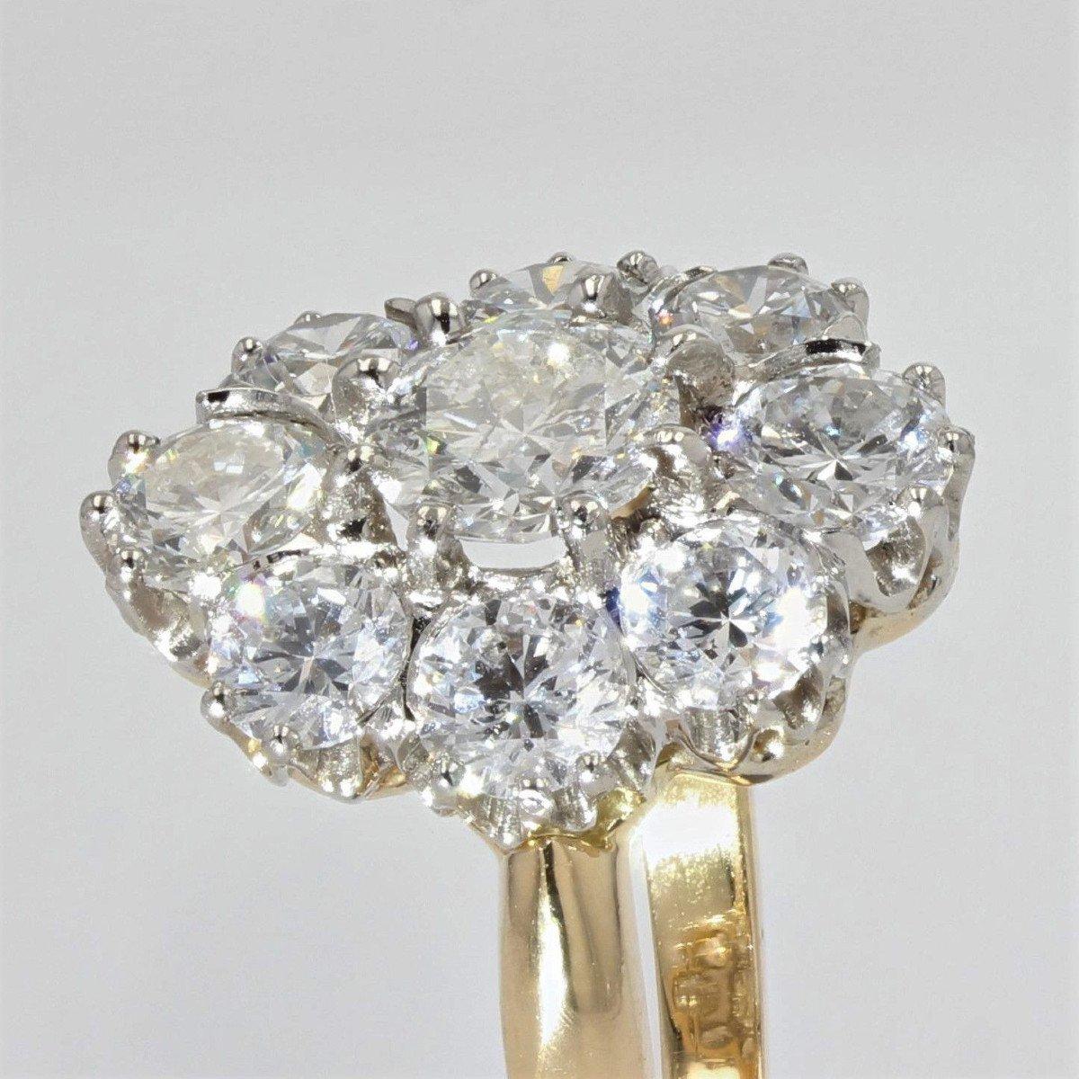 Bague Diamants Pompadour-photo-3