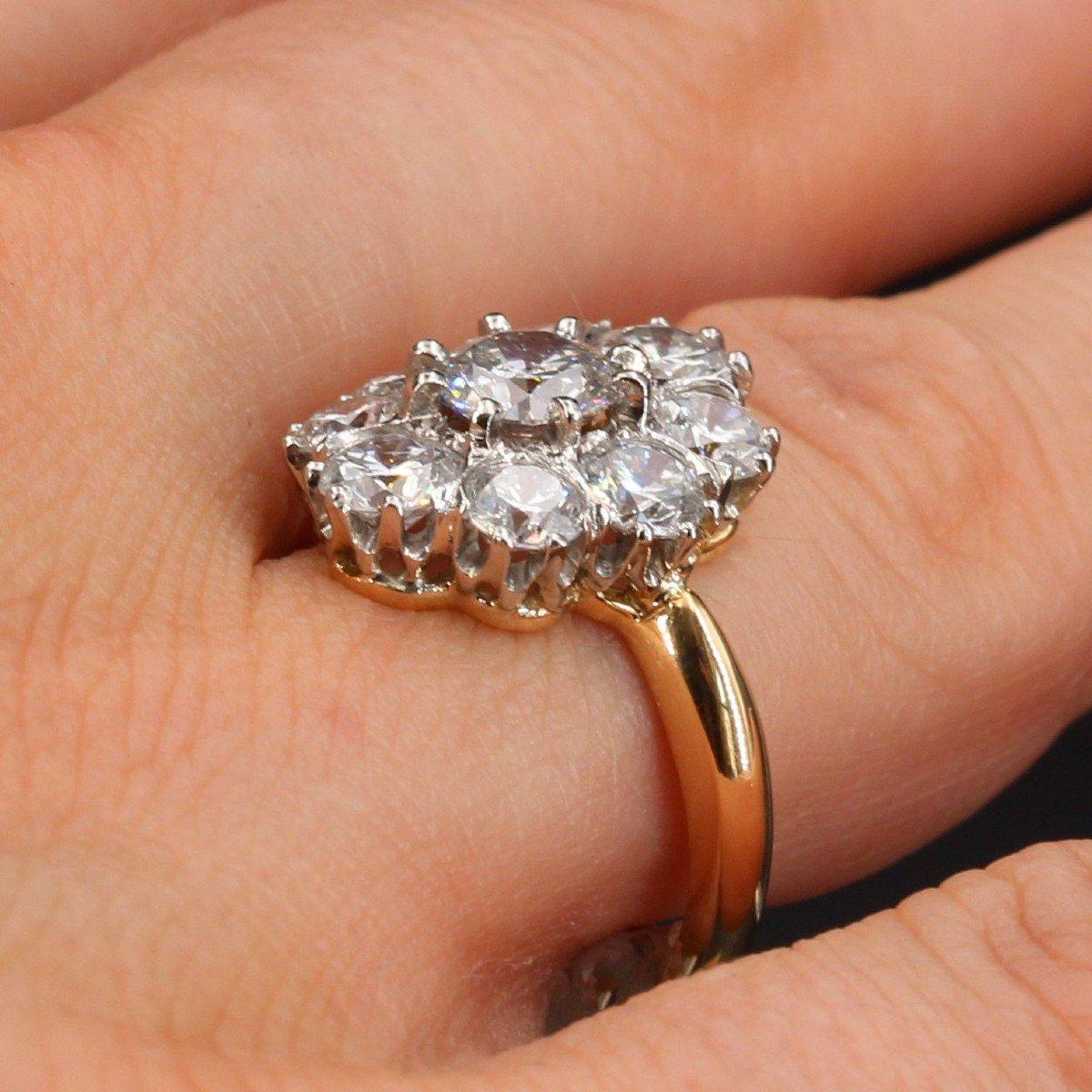 Bague Diamants Pompadour-photo-5