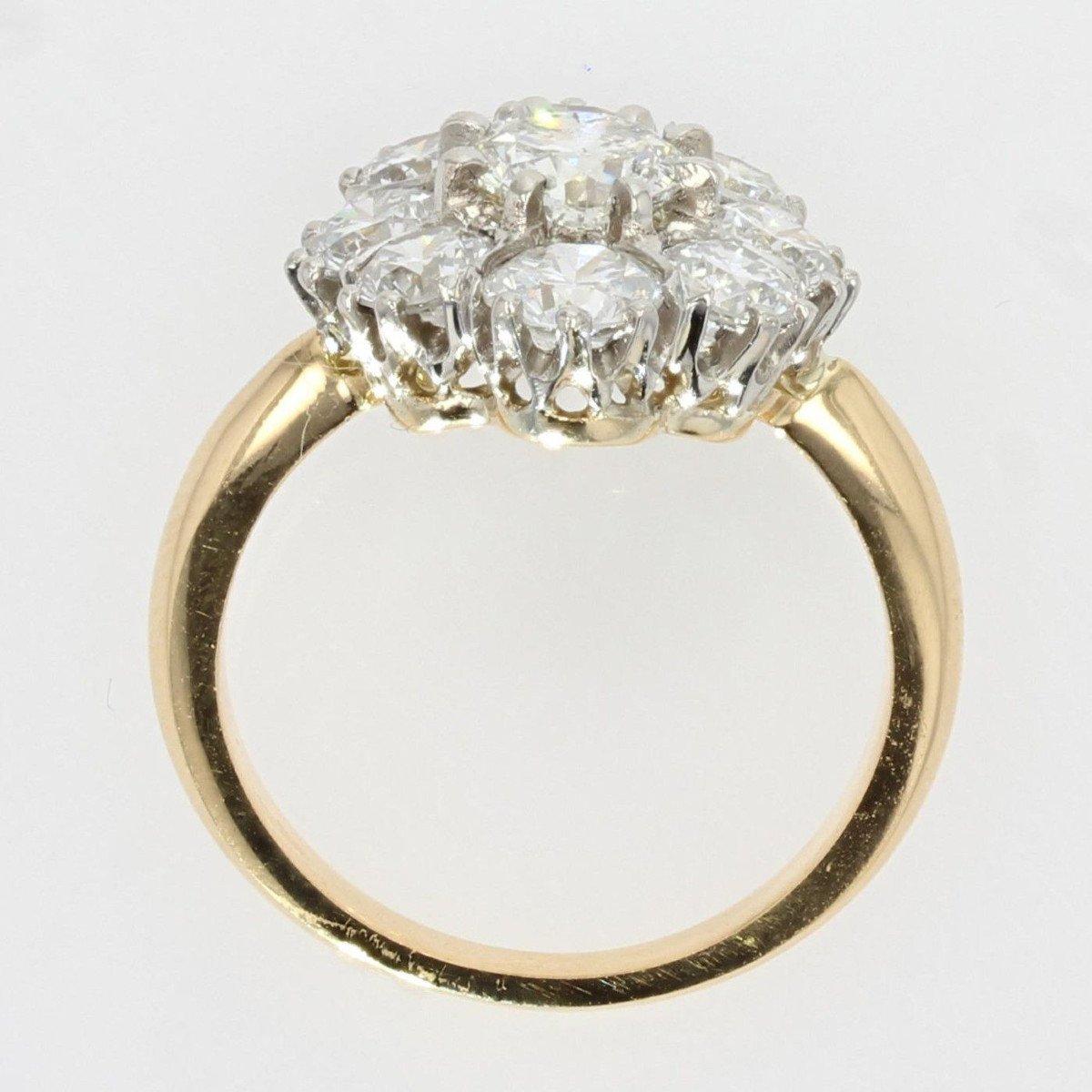Bague Diamants Pompadour-photo-6