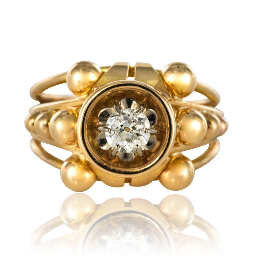 Diamond 60's Ring