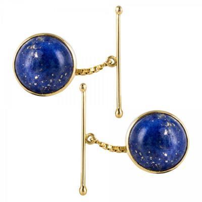 Boutons De Manchettes Lapis Lazuli