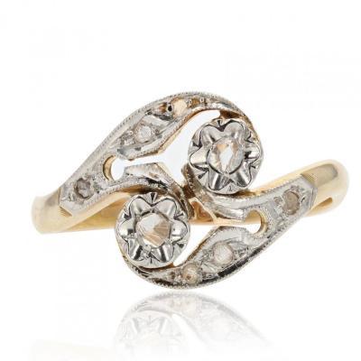 Old Belle Epoque Diamond Ring