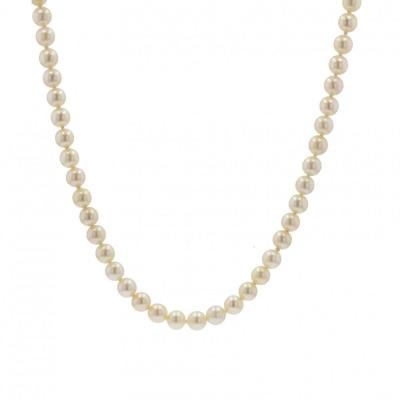Pearl Necklace Said Choker