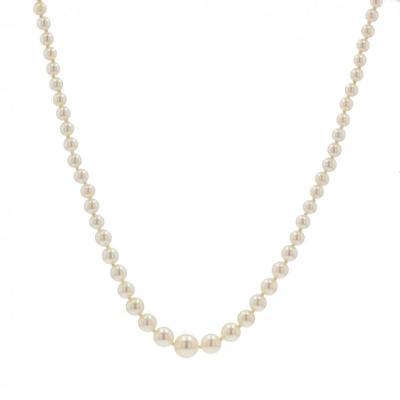 Oriental Pearl Drop Necklace