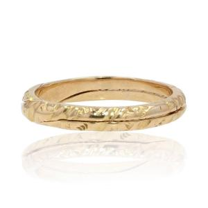 Old Gold Double Ring Alliance