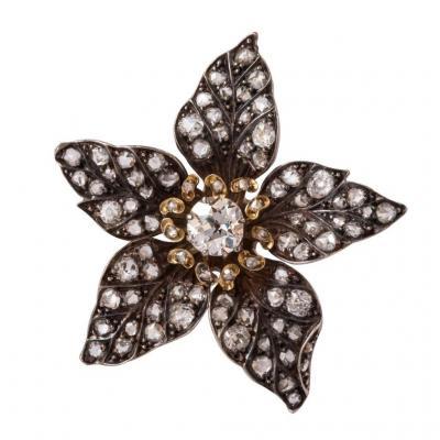 Former Flower Diamonds Pendant