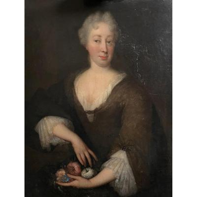 Paintings Of The Princess Dowager Of Orange By Johannes Vollevens II 1748