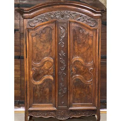 French Walnut Armoire 18nth Century