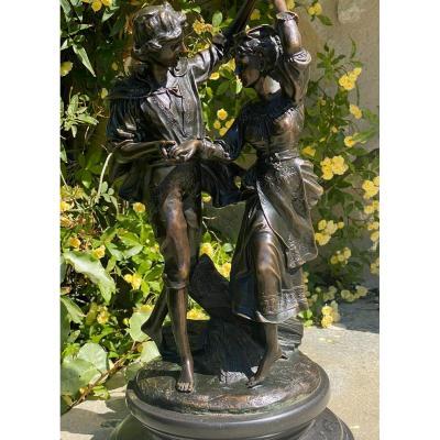 Didier  Debut  1824-1893    2ème Prix De Rome    Bronze    SignÉ