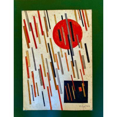 Nicolas Suetin Russian Artist Suprematist 1918 -1922