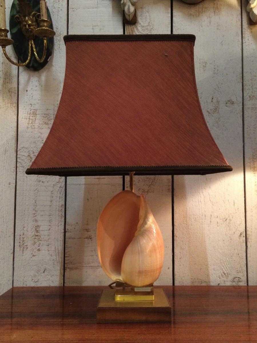 Lampe Coquillage. Vers 1970