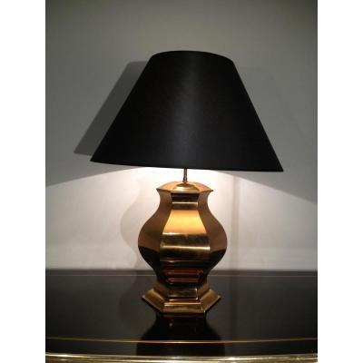 Lampe En Laiton. Vers 1960
