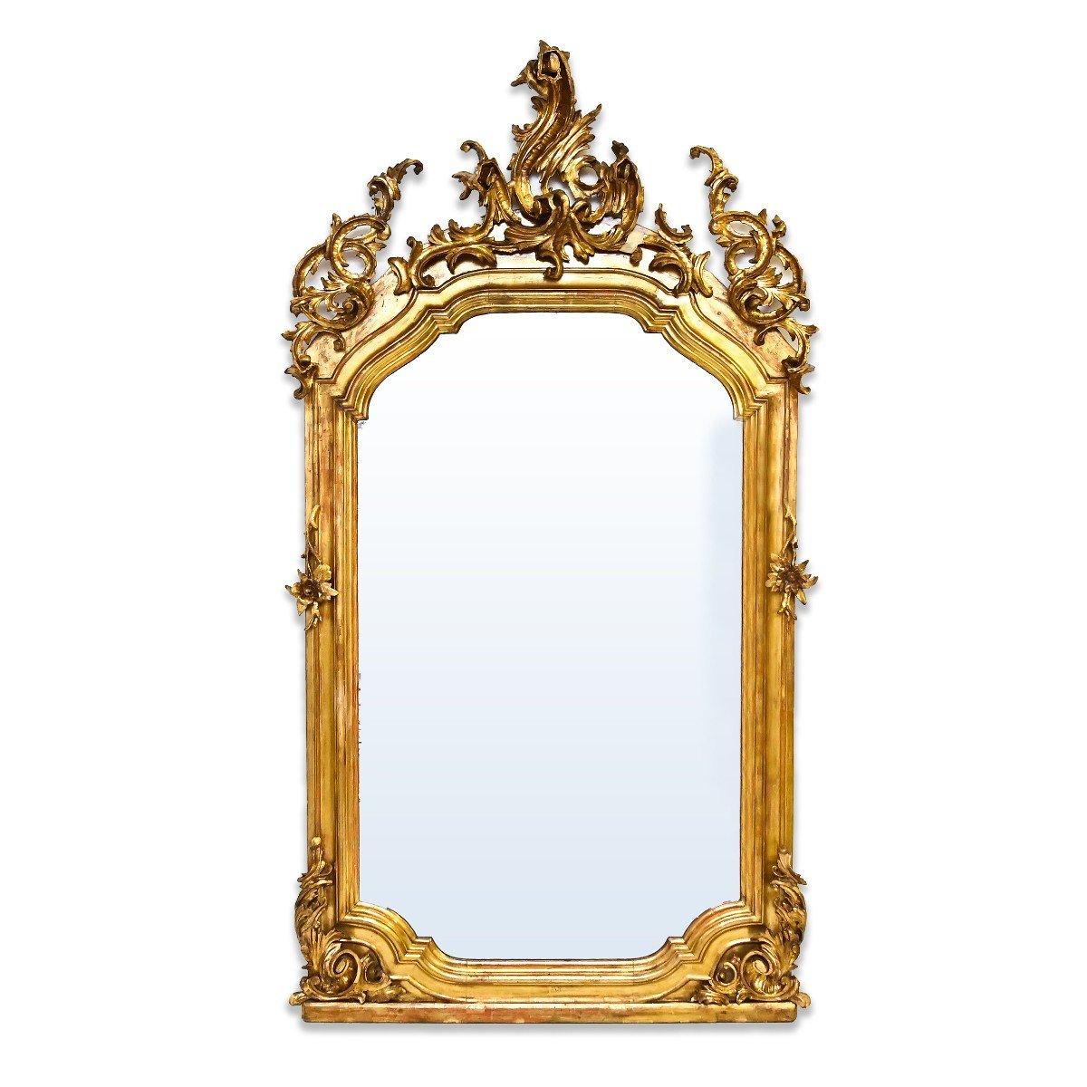 Miroir / Cheminée