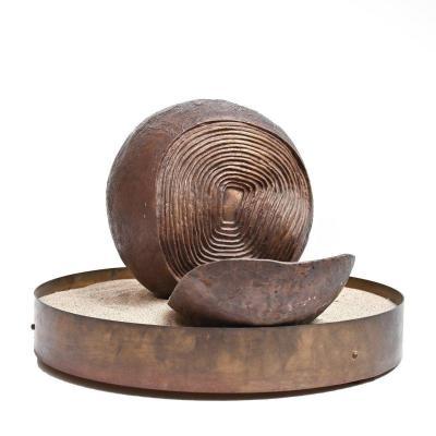 Bronze Sculpture By Franco Zazzeri