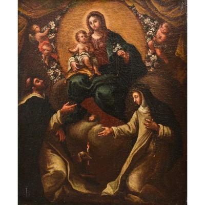 """sacred Scene"" - Oil On Canvas"