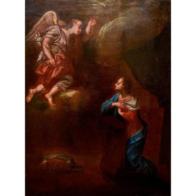 """""""annunciation"""" - Oil Painting On Canvas"""