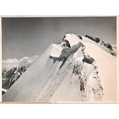 """""""Cadre du Col Sella"""" Photo Par Vittorio Sella"""