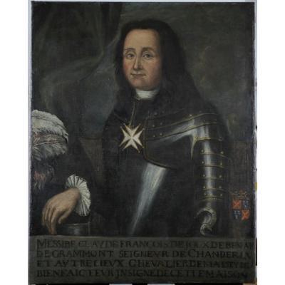 XVIIe, Claude François Comte Grammont-conflandey, Gouverneur Artois 1667, Chevalier De Malte