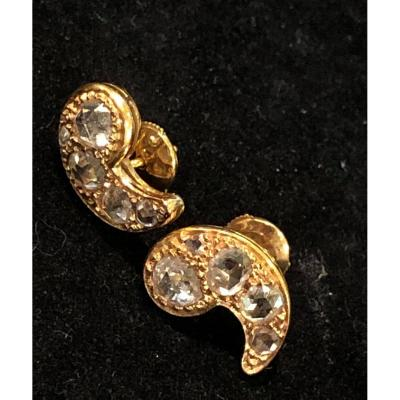 A Pair Of Comma Earrings