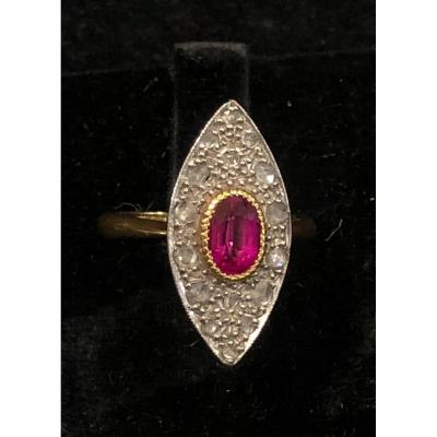 Bague Marquise 1925