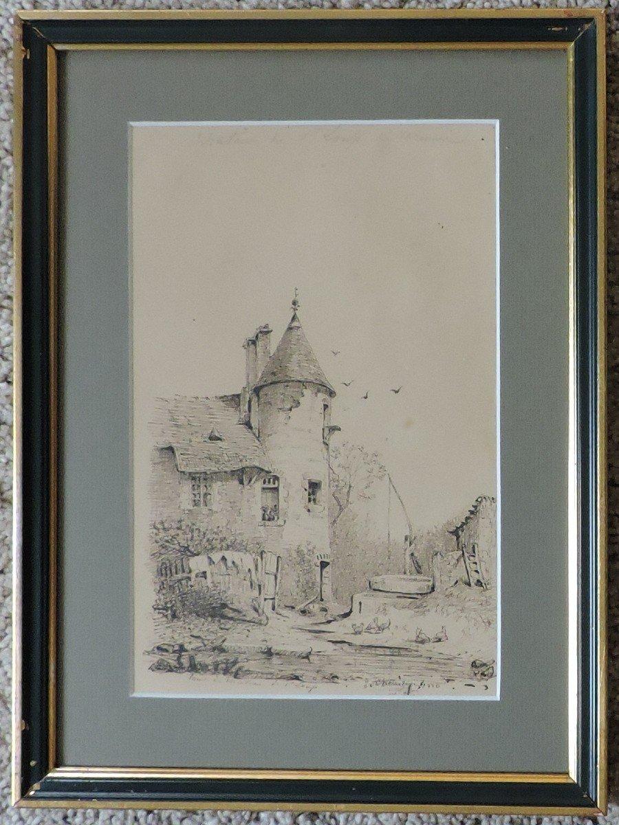 Jules Chevrier - Vue de Saint-Loup-de-Varennes