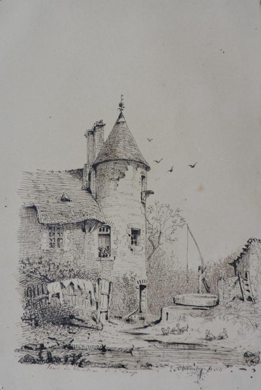 Jules Chevrier - Vue de Saint-Loup-de-Varennes-photo-2