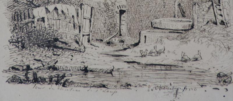 Jules Chevrier - Vue de Saint-Loup-de-Varennes-photo-3