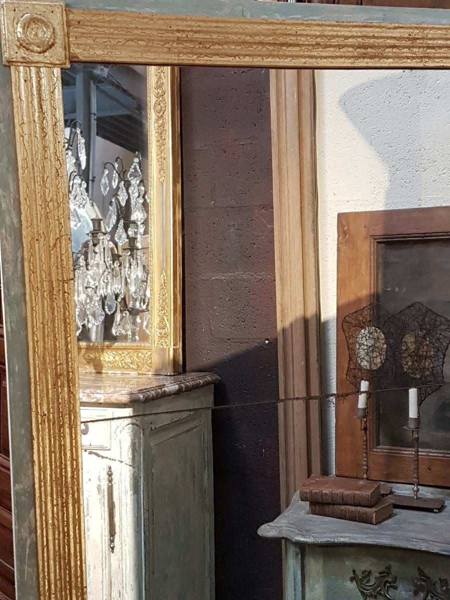 Large Directoire Style Mirror
